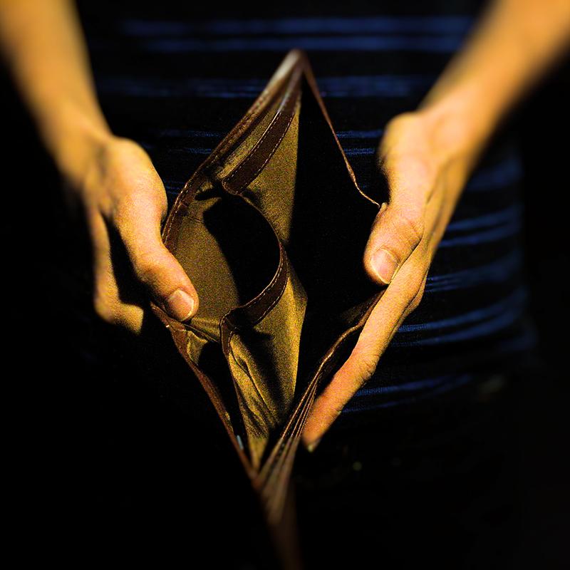 empty wallet