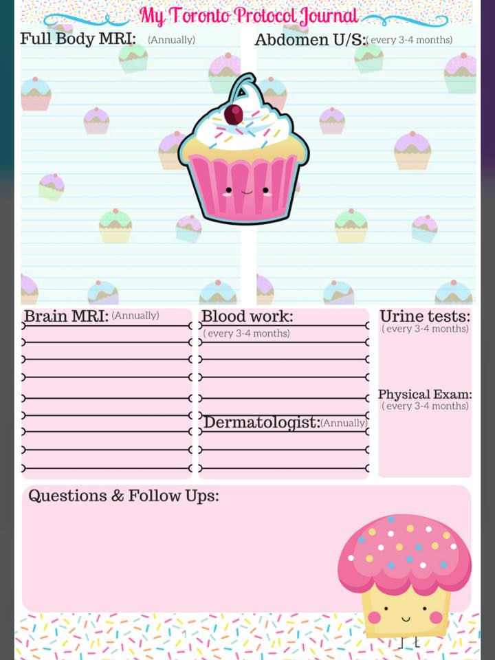 Cupcake Toronto Protocol Journal by Lisa Wickens