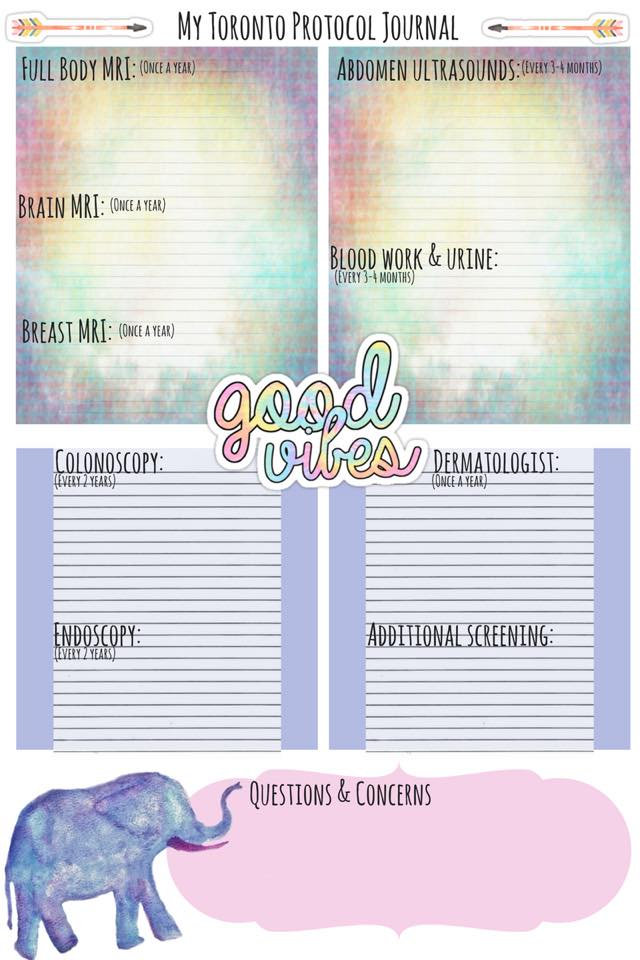 Good Vibes Womens Toronto Protocol Journal by Lisa Wickens