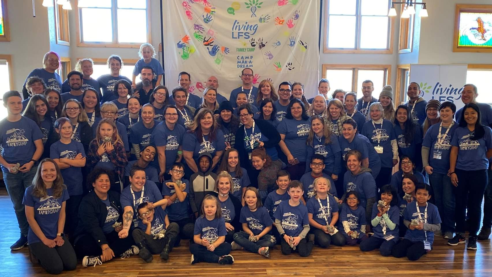 Living LFS 2019 Family Camp Group Photo