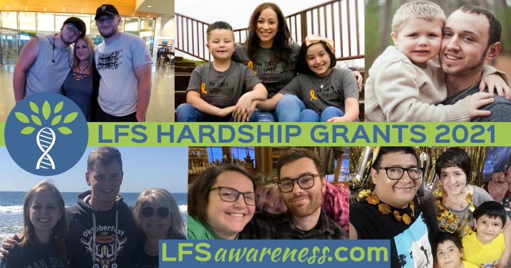 Li-Fraumeni Syndrome Hardship Grants 2021