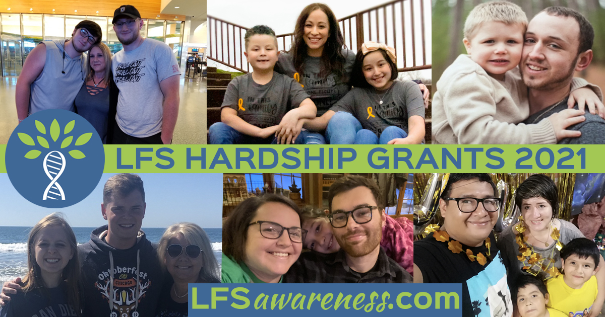 Li-Fraumeni Syndrome Hardship Grants 2021